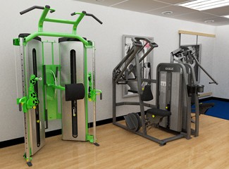 Network Rail - Nuffield Health & Fitness 3D Walkthrough
