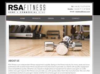 RSA Fitness - Home & Commercial Gyms