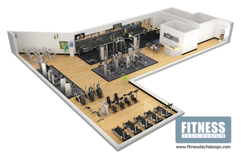3d_gym_portfolio on Small Country Home Floor Plans